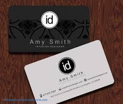business cards interior design. Interior Designer Visiting Cards Card Matter Business Template Best Design B