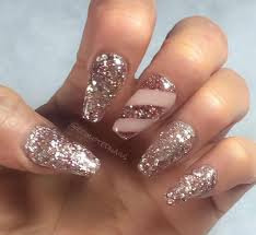 acrylic nail art designs in sequined style sooper mag cpgds with modern nail ideas