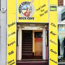 photo of west coast rock cafe blackpool lancashire united kingdom entrance