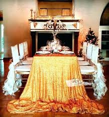 gold sequin table cloths image 0 108 round tablecloth