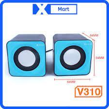 Loa Vi Tính Kisonli V310 2.0 mini chính hãng - Loa Vi Tính Nhãn hàng No  Brand