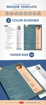 simple professional resume template in ai format simple professional resume template in ai word cdr
