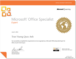 Microsoft Office Certification Classes Online Microsoft