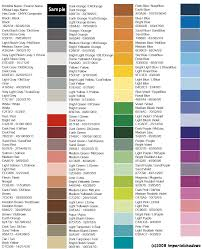 Anchor Floss Colour Chart Anchor Cross Stitch Colour Chart 2019