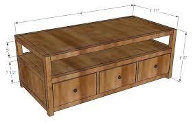 coffee table blueprints dimensions coffee table diy rustic coffee table blueprints simple coffee table designs diy