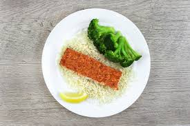 The Basic Meal Salmon Healthy Foods Healthy Meals