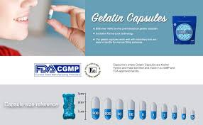 Clear Size 4 Empty Gelatin Capsules By Capsuline 1000 Count