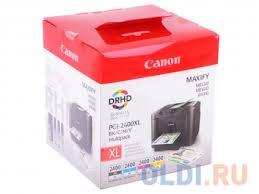 <b>Картридж Canon PGI</b>-<b>2400XL</b> BK/C/M/Y EMB MULTI (комплект ...