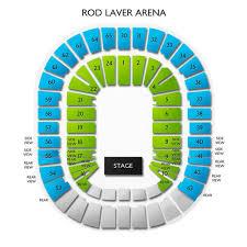 Thorough Rod Laver Concert Seating Map Air Canada Centre