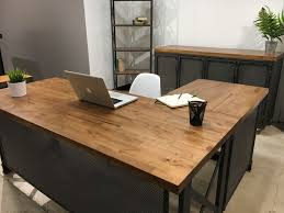 designer office tables. modern industrial office design for commercial and residential use this unique is custom built designer tables