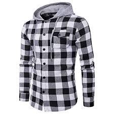 diandianshop Men <b>Shirts</b> Casual Men's <b>Autumn</b> Casual Plaid <b>Shirts</b> ...
