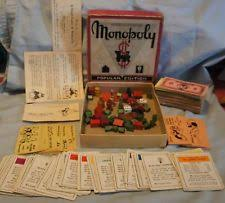 Wooden Monopoly Board Game wooden monopoly game set eBay 71