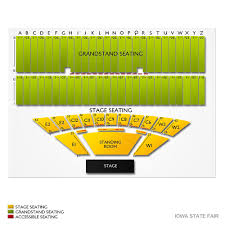 State Fair Seating Chart Mn Meticulous Iowa State Grandstand Seating Chart Iowa State