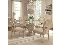 Empire Coffee Table Schnadig Empire Ii 5 Piece Round Pedestal Glass Top Table And Oval