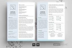 Modern Simple Resume Template 50 Best Cv Resume Templates Of 2019 Design Shack