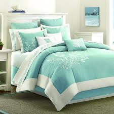 sea themed duvet covers bedding decor beach themed bedding in teal and white for bedroom decoration ideas beach themed crib bedding sets