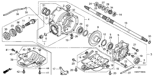 similiar honda recon 250 parts diagram keywords rear axle shafthonda fourtrax recon es 2008 rear final gear part 13 · 2007 honda recon 250 parts diagram