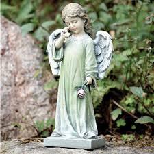 angel garden statue. weeping angel garden statue