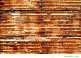 texture a rusty corrugated iron wall