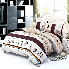 bedding set family cotton bed sheets duvet cover king size linens coco chanel comforter sets