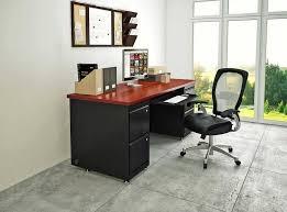 Designer home office desks Diy Comfortable Signature Black Red Modern Home Office Desks With Bookcase Kyeanorg Furniture Comfortable Signature Black Red Modern Home Office Desks