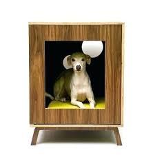 modern dog furniture. Modern Dog Crate Designer Crates Furniture Mid Century By