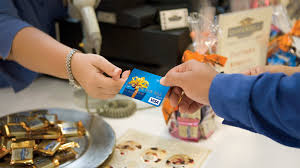 paying for item with gift card