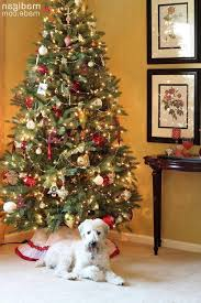 Holiday Home Tour  Christmas In Every Room  The Homes I Have MadeRed Silver And White Christmas Tree