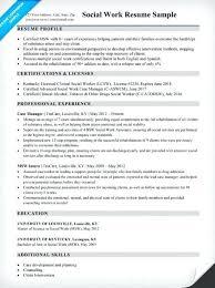 Social Work Resume Example Sarahepps Com