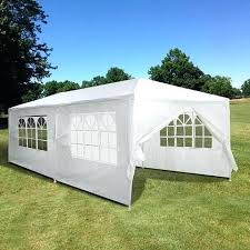 x outdoor wedding party tent 6 sidewalls 10x20 assembly instructions white