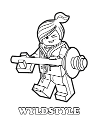 Lego Coloring Pages Fun Time