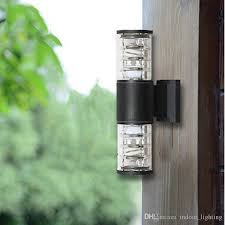 best 10w up down outdoor led wall light cylinder porch lamp exterior light luminaria side aluminum waterproof garden light 110v 240v under 39 2 dhgate