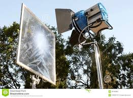 Professional Film Lighting Equipment Professional Movie Lighting Equipment Stock Photo Image Of