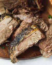 slow cooker boneless leg of lamb