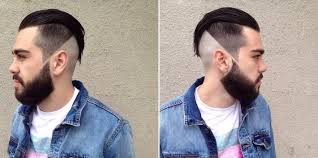 short haircut for men with high fade