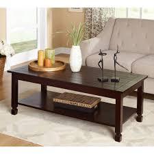 oval glass genoa round coffee table with glass top dark espresso industrial glass espresso coffee table