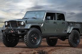Jeep is Making a 4-Door Pickup Truck