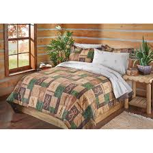browning patchwork bed set