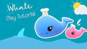 สอนปั้น ปลาวาฬ น่ารัก ด้วย ดินเกาหลี (Clay Tutorial - Whale) | แม่ปลา -  YouTube
