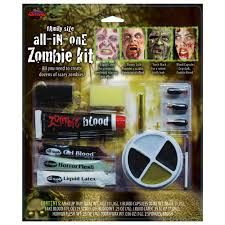 all in one family zombie makeup kit how to zombie makeup tutorial horror deluxe zombie makeup kit tutorial mugeek vidalondon