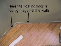 nice installing laminate flooring on walls bad laminate installation repair