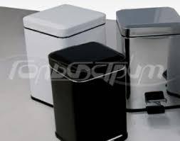 <b>Ведро для мусора Colombo</b> Black&White 3/5 л хром/белое/черное ...