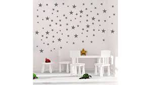 silver glitter polka dot wall decals