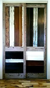 closet doors reclaimed lumber
