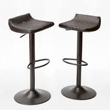 rst brands woven wicker patio bar stool (pack)ippebstdeco