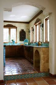 Mexican Style Kitchen Design Rustic Red Kitchen Cabinets Monsterlune Mexican Kitchen Cabinets