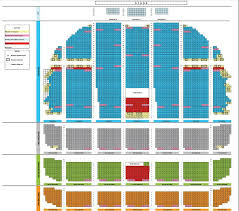 radio city detailed seating chart