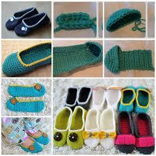 Free Crochet Slipper Patterns Simple Wonderful DIY Cozy Crochet Slippers With Free Pattern