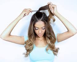 Half Ponytail Hairstyles Ariana Grande Inspired Hair Tutorial Half Up Ponytail