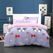 dog duvet cover cotton dog duvet cover sets cartoon animal bedding set twin full queen king dog duvet